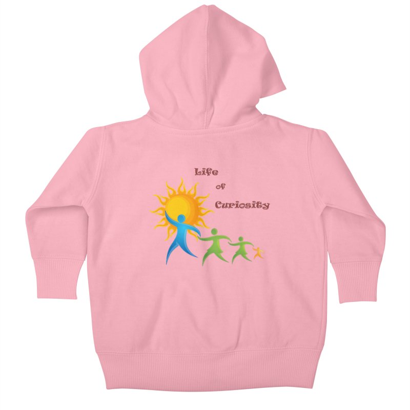 The LoC Logo Kids Baby Zip-Up Hoody by The Life of Curiosity Store