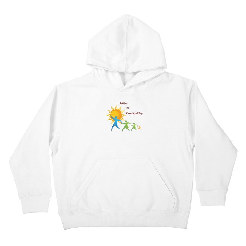 The LoC Logo Kids Pullover Hoody by The Life of Curiosity Store