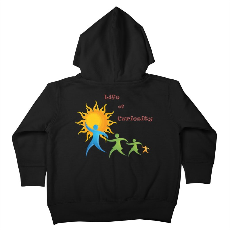 The LoC Logo Kids Toddler Zip-Up Hoody by The Life of Curiosity Store