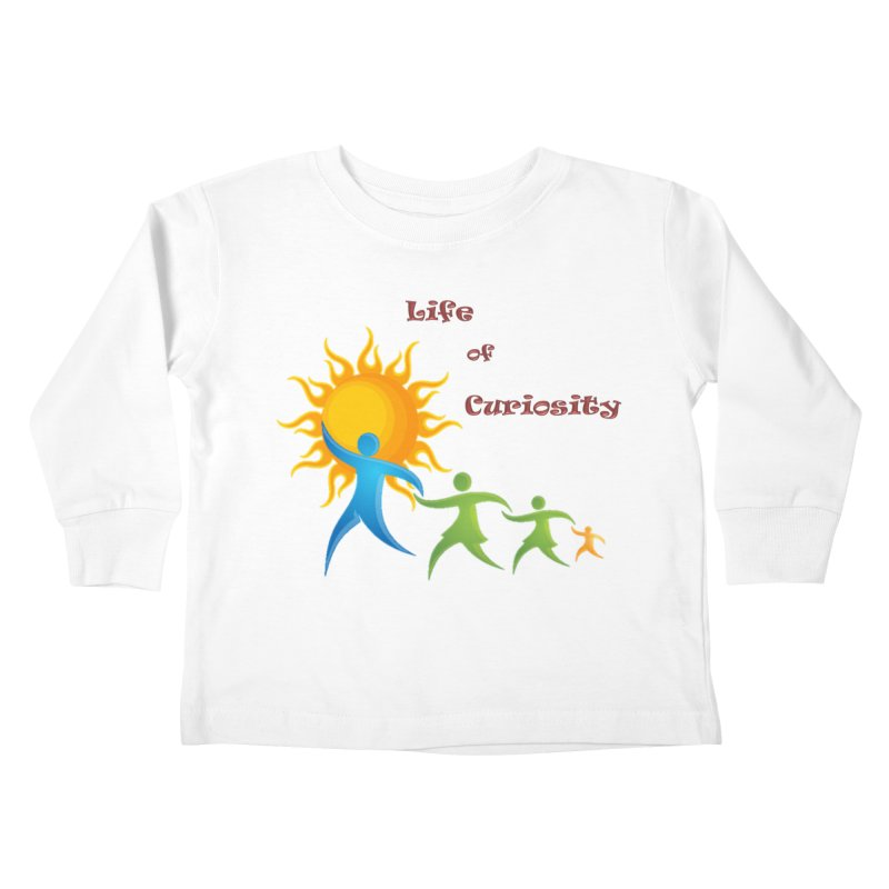 The LoC Logo Kids Toddler Longsleeve T-Shirt by The Life of Curiosity Store