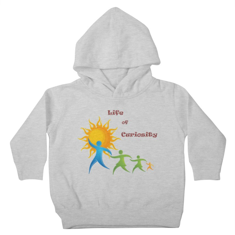 The LoC Logo Kids Toddler Pullover Hoody by The Life of Curiosity Store