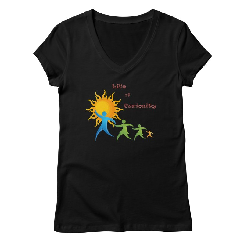 The LoC Logo Women's Regular V-Neck by The Life of Curiosity Store