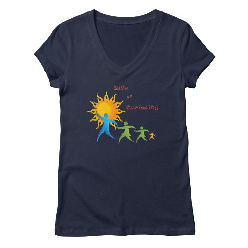 The LoC Logo Women's Regular V-Neck by The Life of Curiosity Store