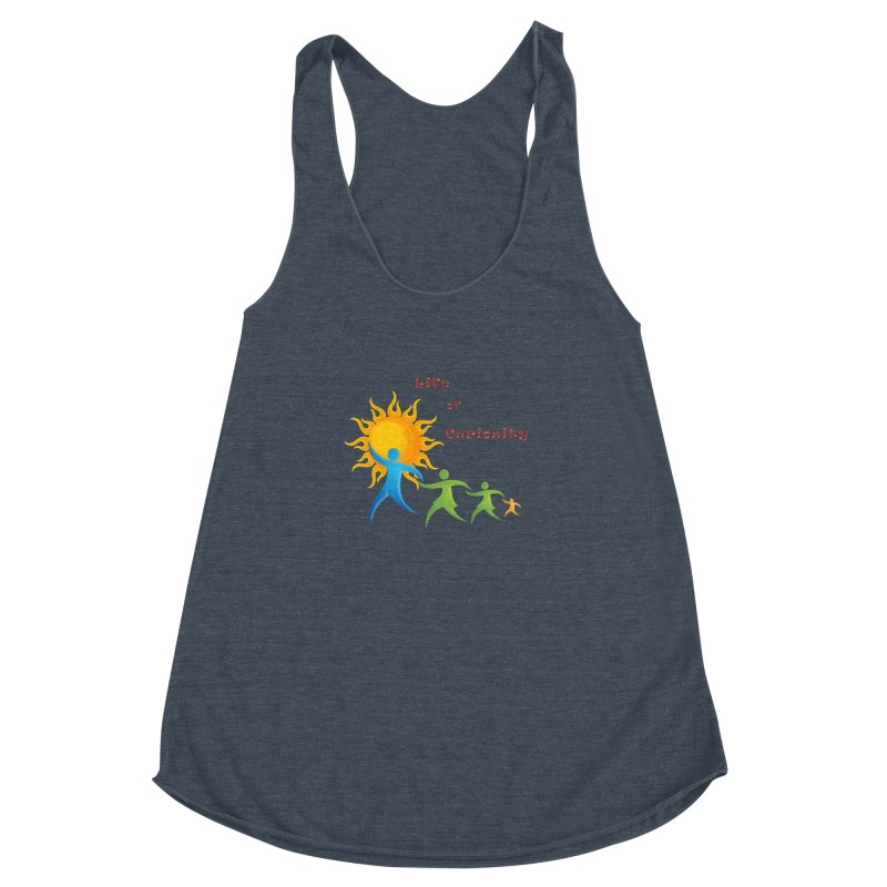 The LoC Logo Women's Racerback Triblend Tank by The Life of Curiosity Store