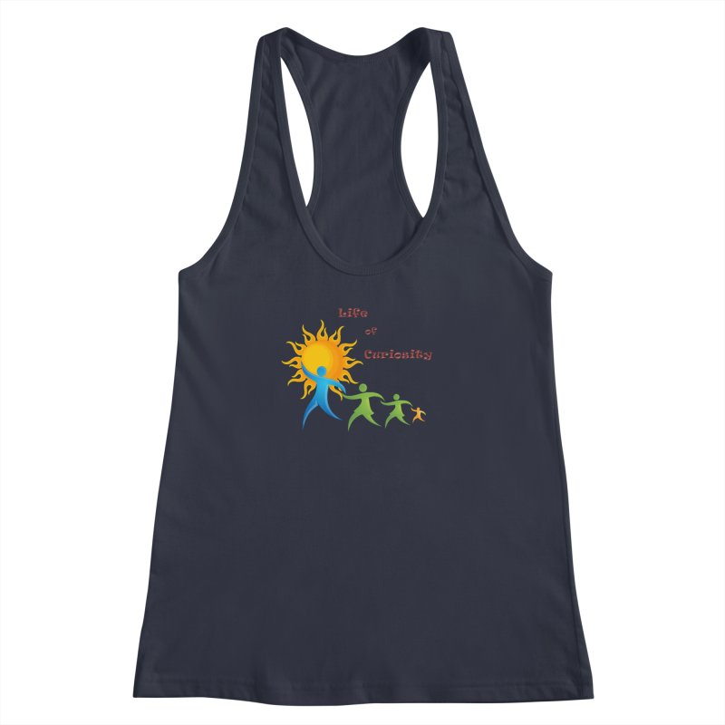 The LoC Logo Women's Racerback Tank by The Life of Curiosity Store