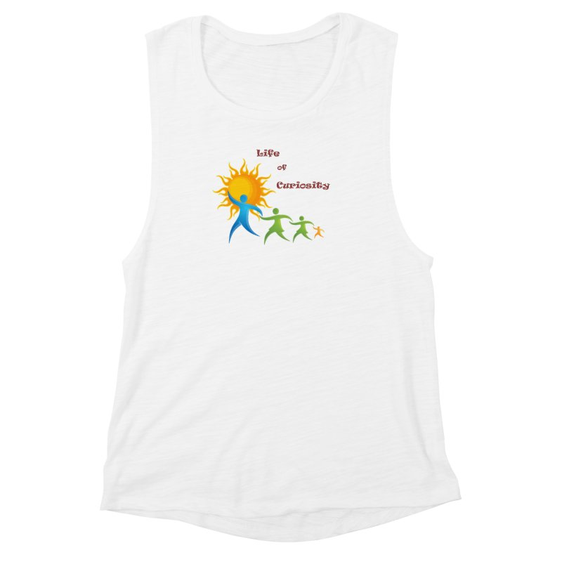 The LoC Logo Women's Muscle Tank by The Life of Curiosity Store