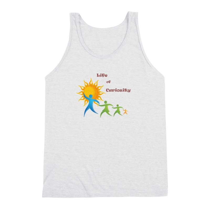 The LoC Logo Men's Triblend Tank by The Life of Curiosity Store