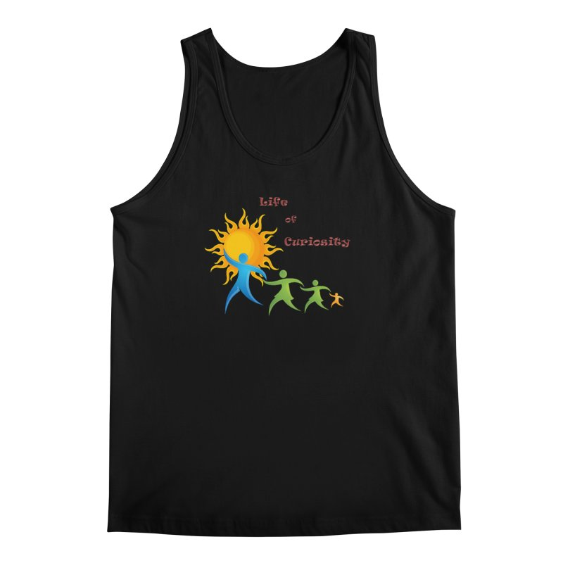 The LoC Logo Men's Regular Tank by The Life of Curiosity Store