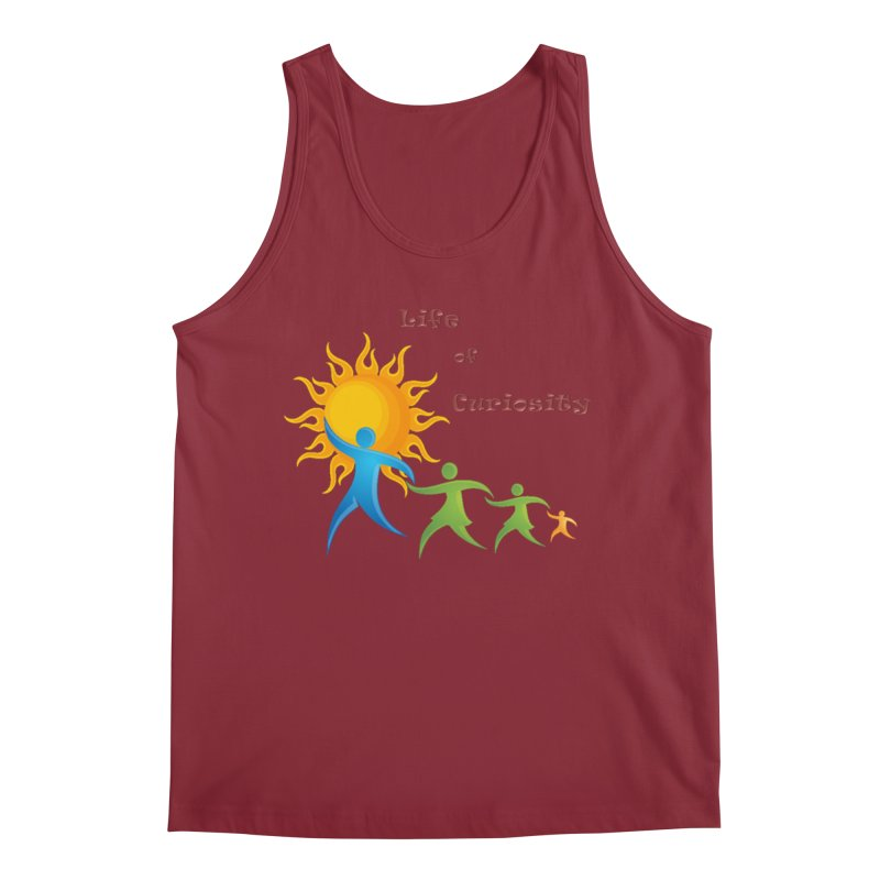 The LoC Logo Men's Tank by The Life of Curiosity Store