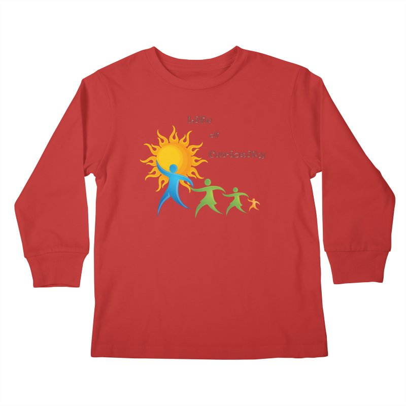 The LoC Logo Kids Longsleeve T-Shirt by The Life of Curiosity Store