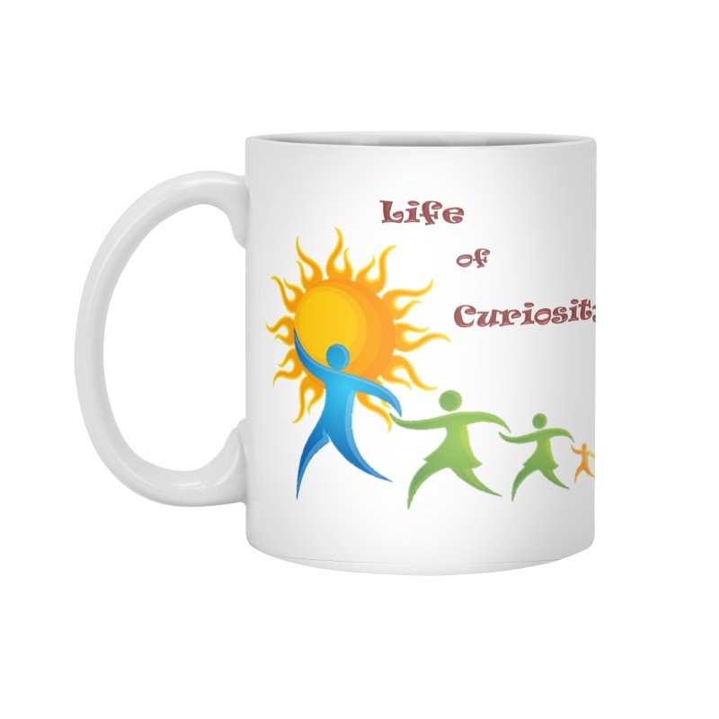 The LoC Logo Accessories Standard Mug by The Life of Curiosity Store
