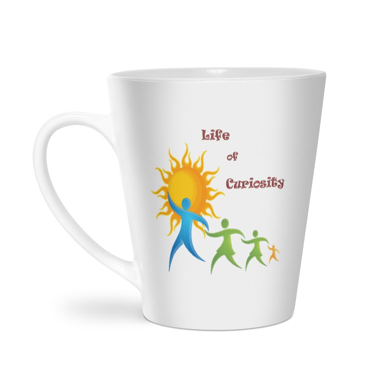 The LoC Logo Accessories Latte Mug by The Life of Curiosity Store