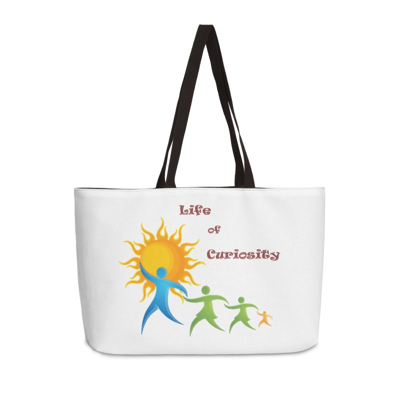 The LoC Logo Accessories Weekender Bag Bag by The Life of Curiosity Store