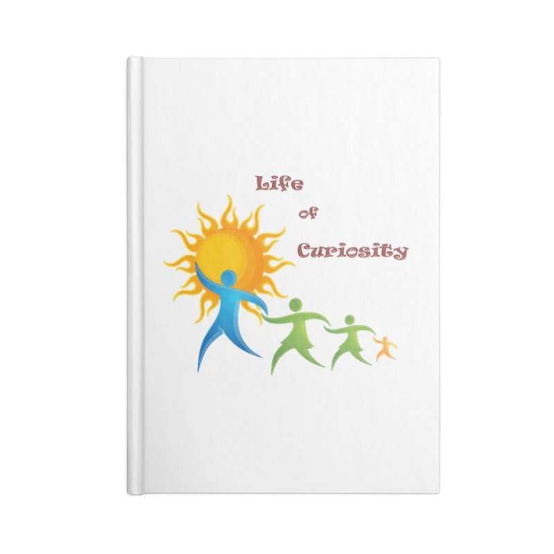 The LoC Logo Accessories Blank Journal Notebook by The Life of Curiosity Store