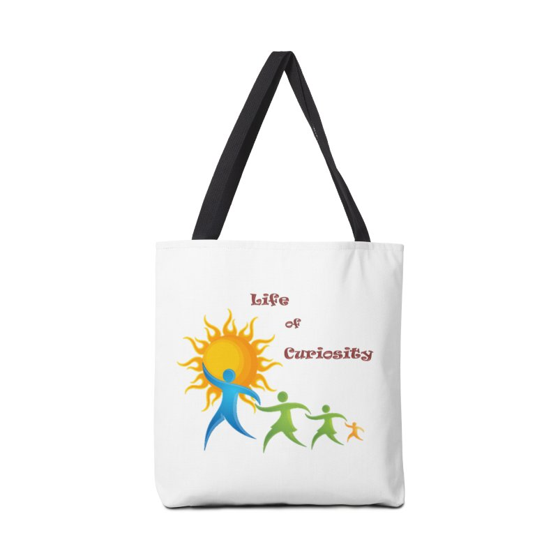The LoC Logo Accessories Tote Bag Bag by The Life of Curiosity Store