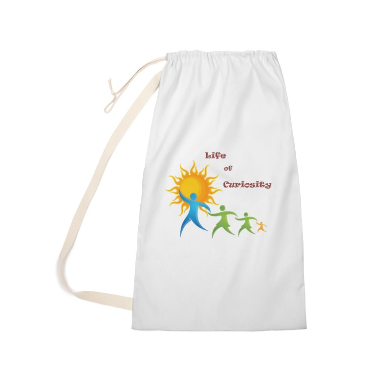 The LoC Logo Accessories Laundry Bag Bag by The Life of Curiosity Store