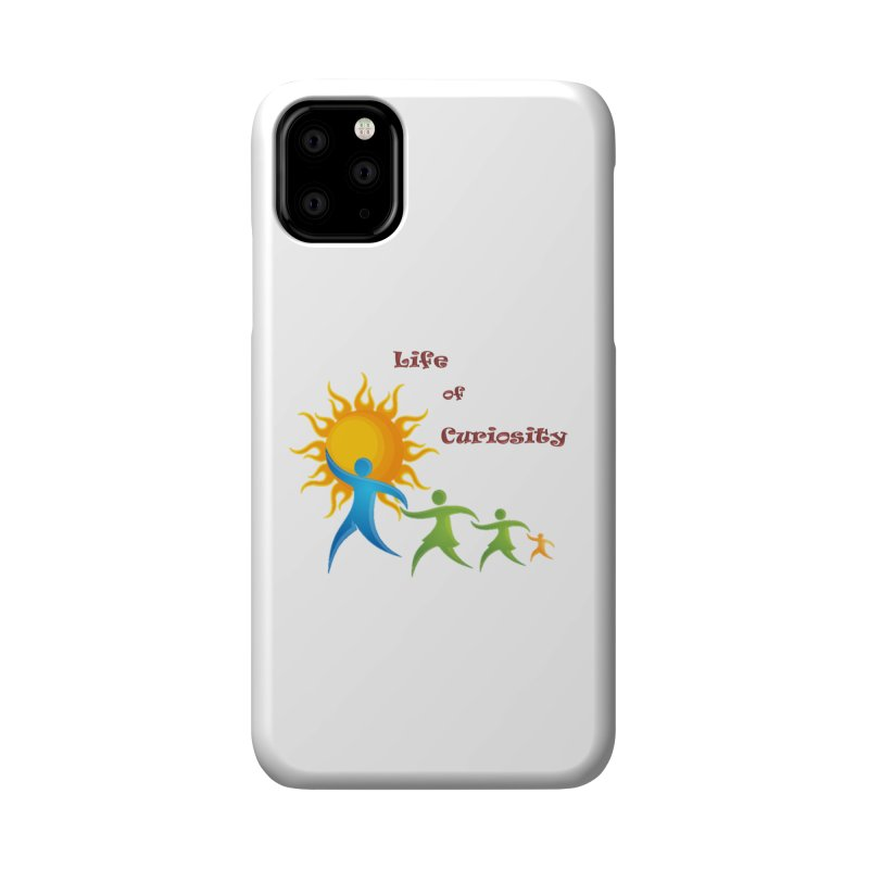 The LoC Logo Accessories Phone Case by The Life of Curiosity Store