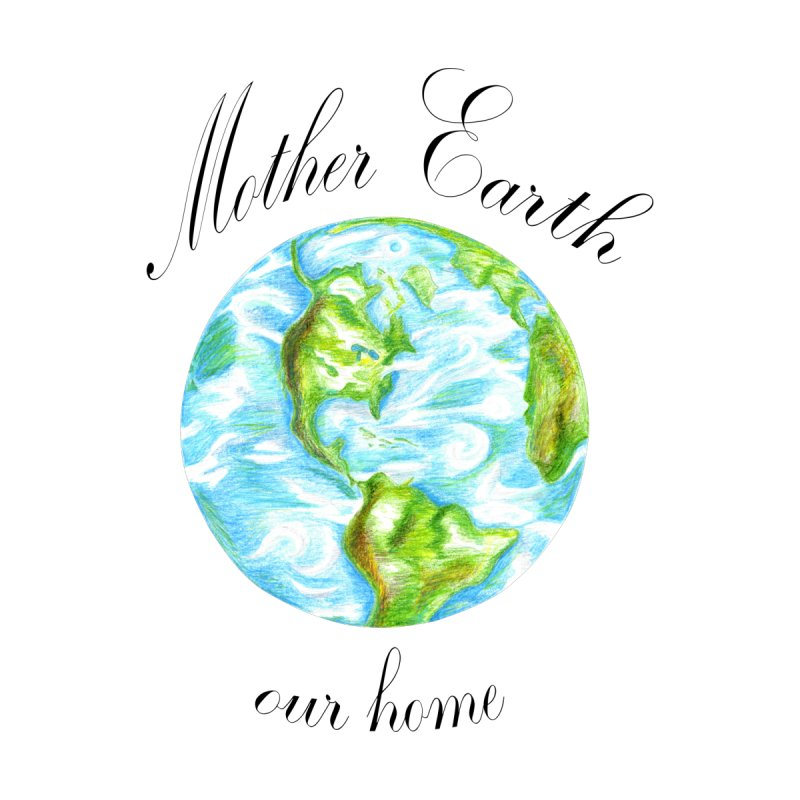 Mother Earth our home Home Framed Fine Art Print by The Life of Curiosity Store