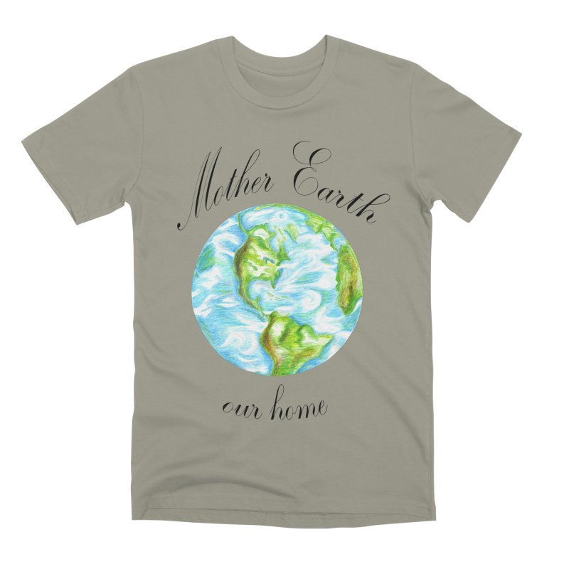 Mother Earth our home Men's Premium T-Shirt by The Life of Curiosity Store