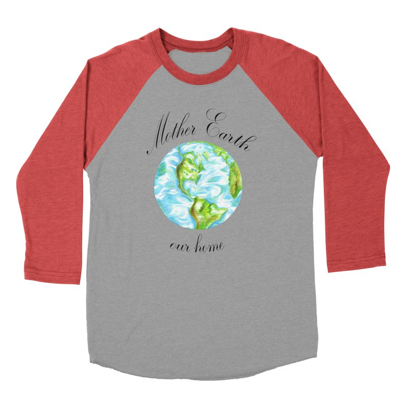 Mother Earth our home Men's Longsleeve T-Shirt by The Life of Curiosity Store