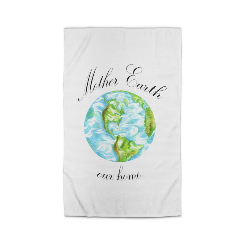 Mother Earth our home Home Rug by The Life of Curiosity Store