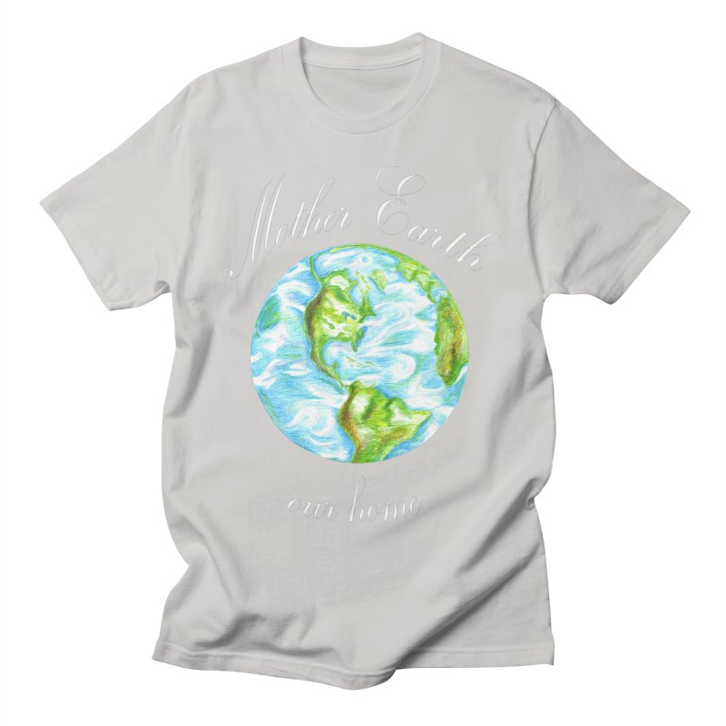 Mother Earth our home Men's Regular T-Shirt by The Life of Curiosity Store