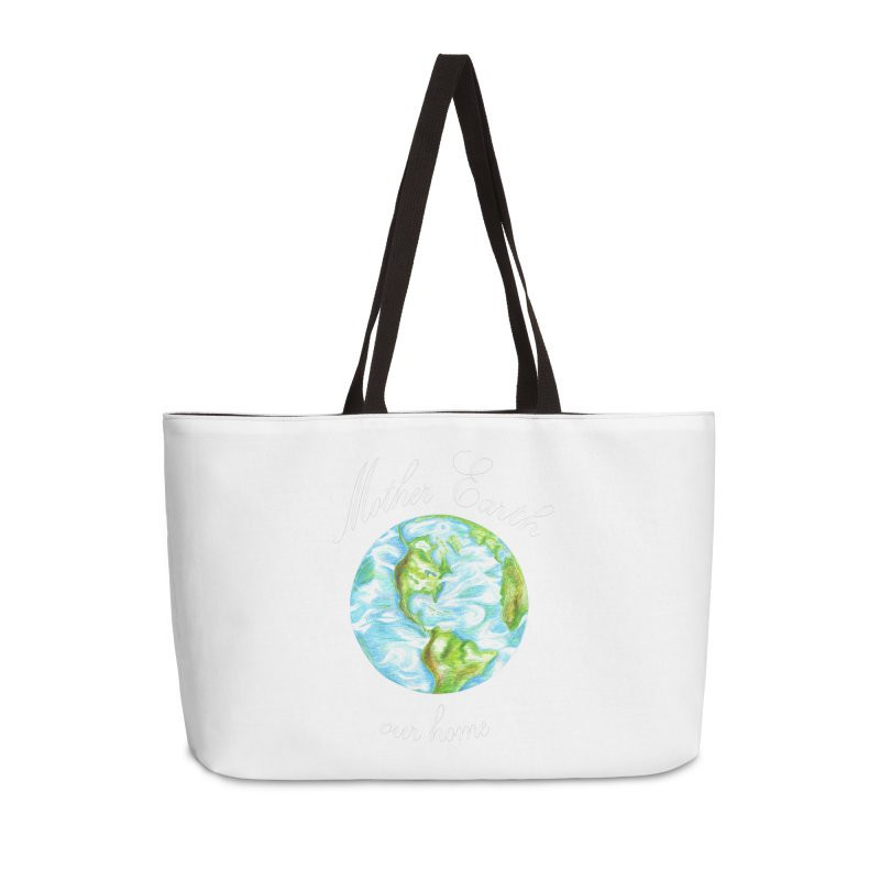Mother Earth our home Accessories Weekender Bag Bag by The Life of Curiosity Store