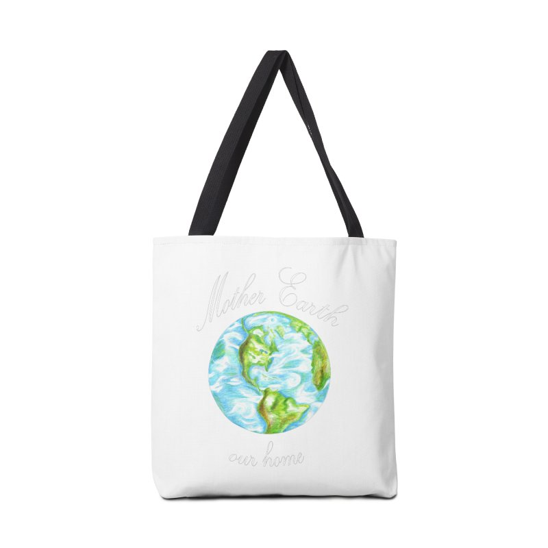 Mother Earth our home Accessories Tote Bag Bag by The Life of Curiosity Store