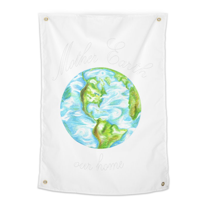 Mother Earth our home Home Tapestry by The Life of Curiosity Store