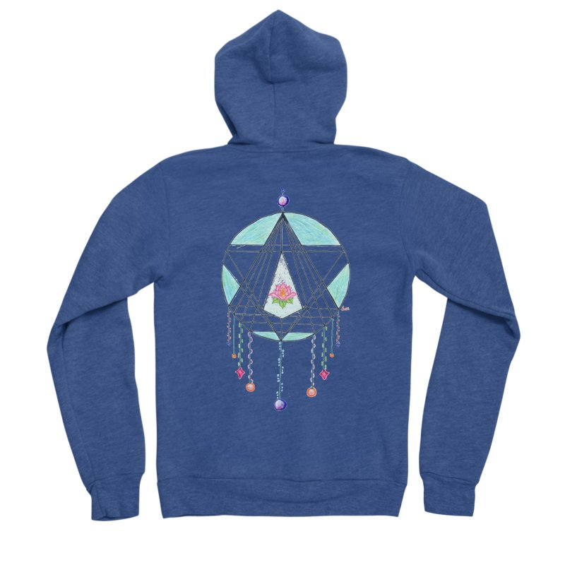 Dreamcatcher Men's Sponge Fleece Zip-Up Hoody by The Life of Curiosity Store