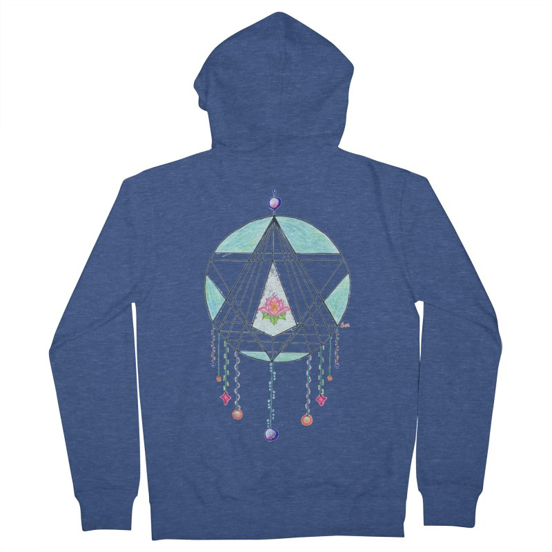 Dreamcatcher Women's French Terry Zip-Up Hoody by The Life of Curiosity Store