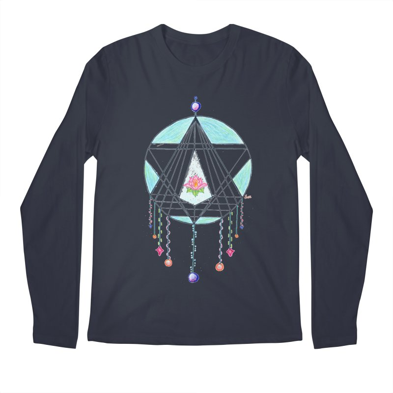 Dreamcatcher Men's Regular Longsleeve T-Shirt by The Life of Curiosity Store