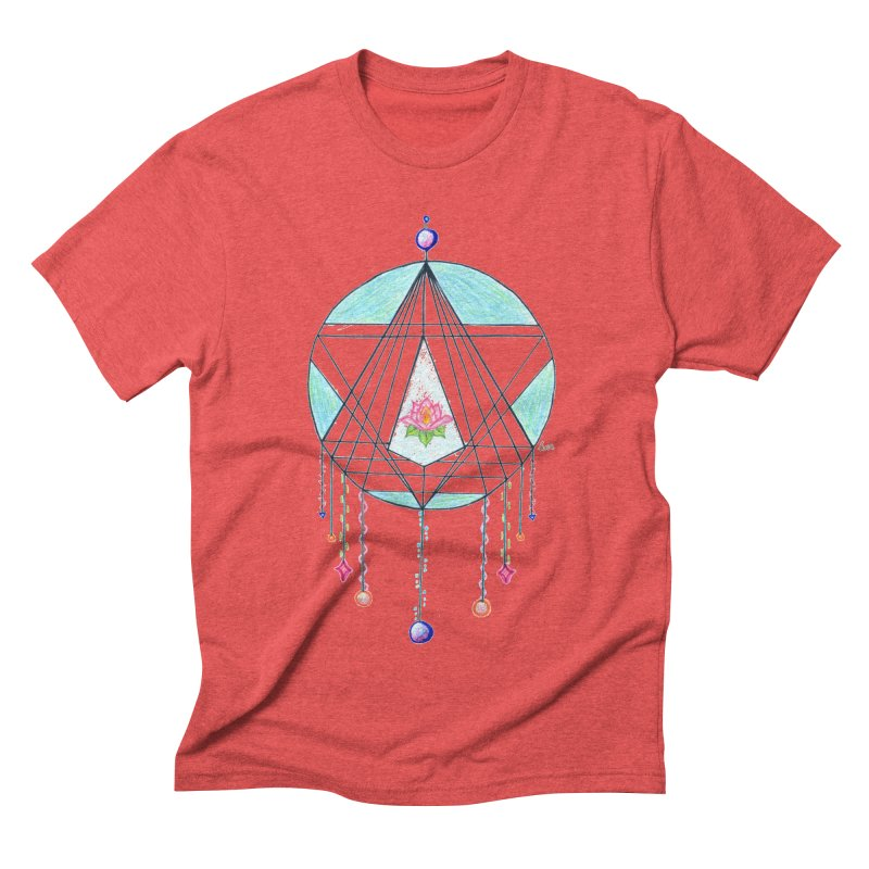 Dreamcatcher Men's Triblend T-Shirt by The Life of Curiosity Store