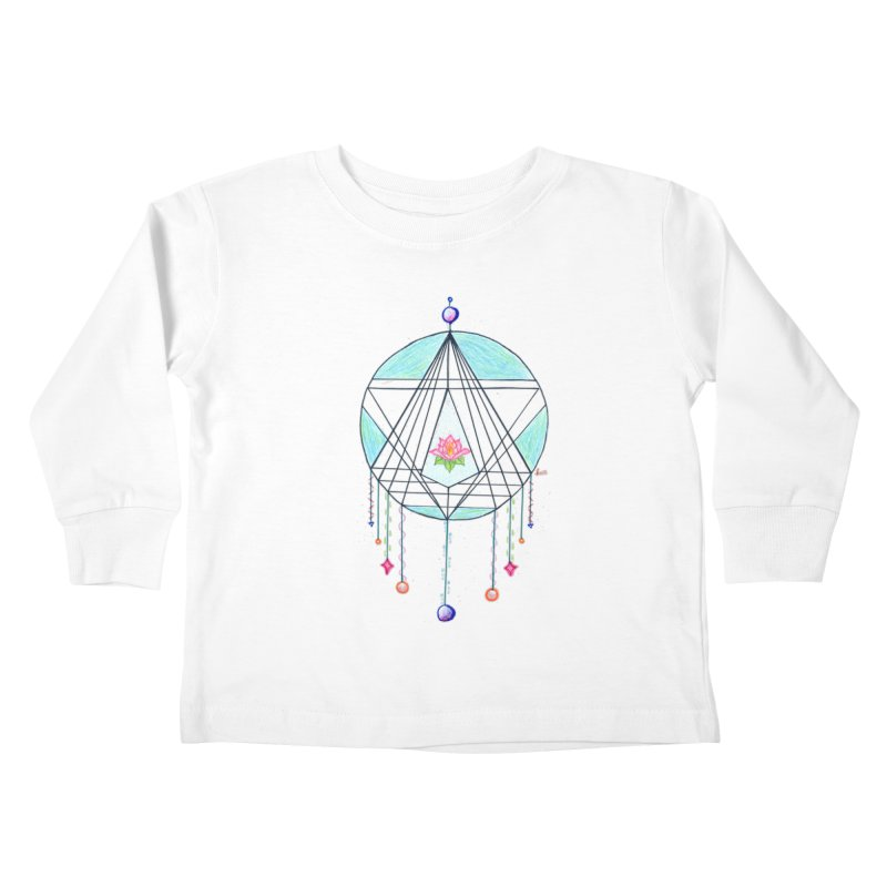 Dreamcatcher Kids Toddler Longsleeve T-Shirt by The Life of Curiosity Store