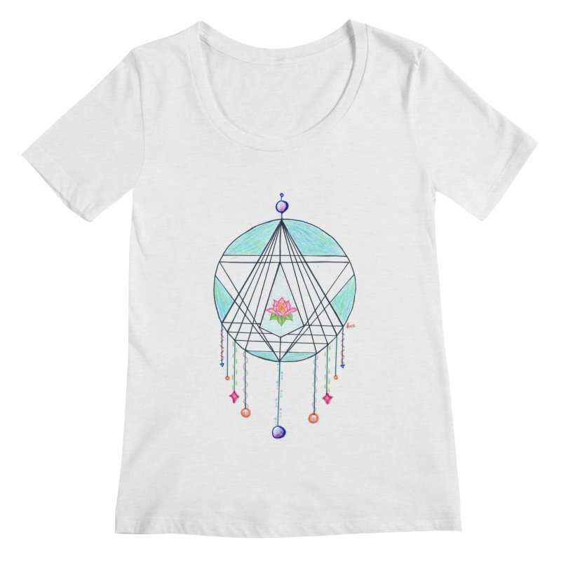 Dreamcatcher Women's Regular Scoop Neck by The Life of Curiosity Store