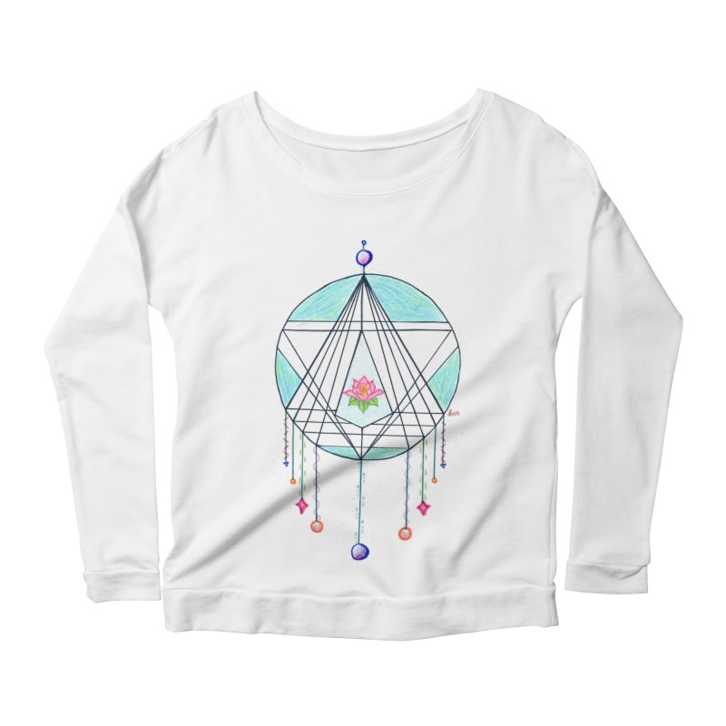 Dreamcatcher Women's Scoop Neck Longsleeve T-Shirt by The Life of Curiosity Store