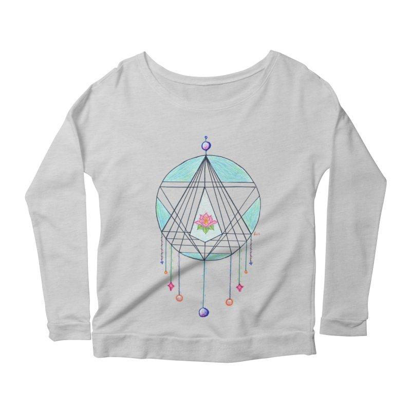 Dreamcatcher Women's Scoop Neck Longsleeve T-Shirt by The Life of Curiosity Store