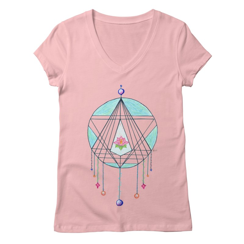 Dreamcatcher Women's Regular V-Neck by The Life of Curiosity Store