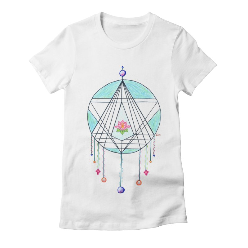 Dreamcatcher Women's Fitted T-Shirt by The Life of Curiosity Store