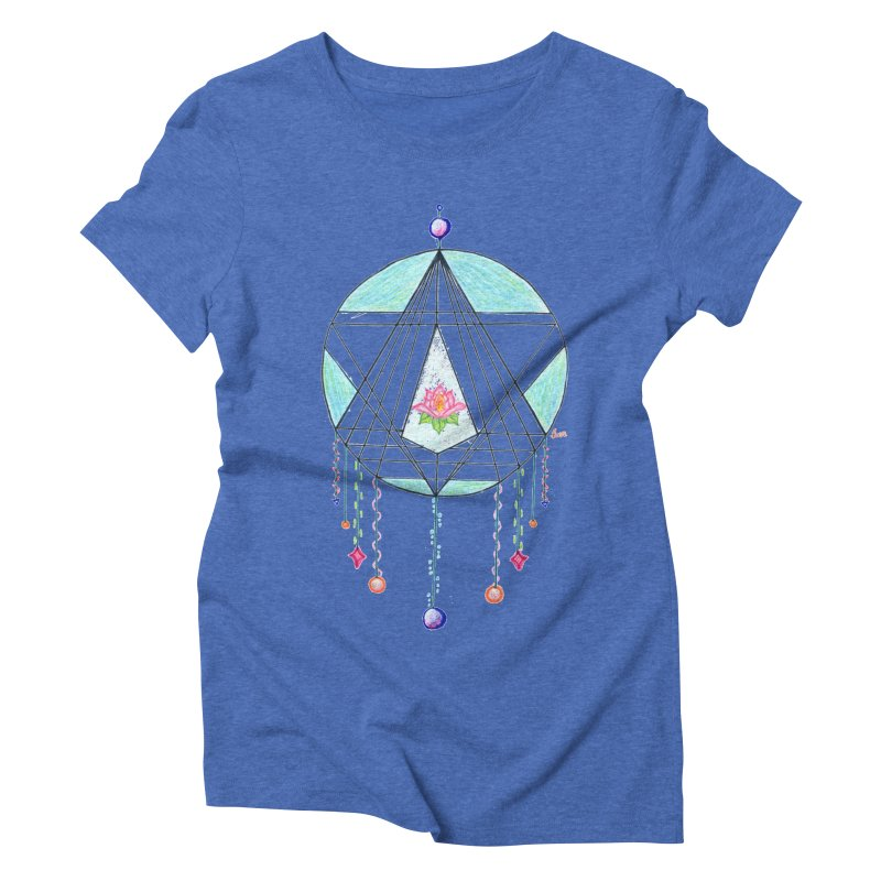 Dreamcatcher Women's Triblend T-Shirt by The Life of Curiosity Store