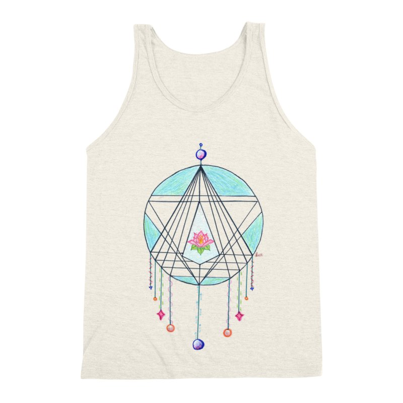 Dreamcatcher Men's Triblend Tank by The Life of Curiosity Store