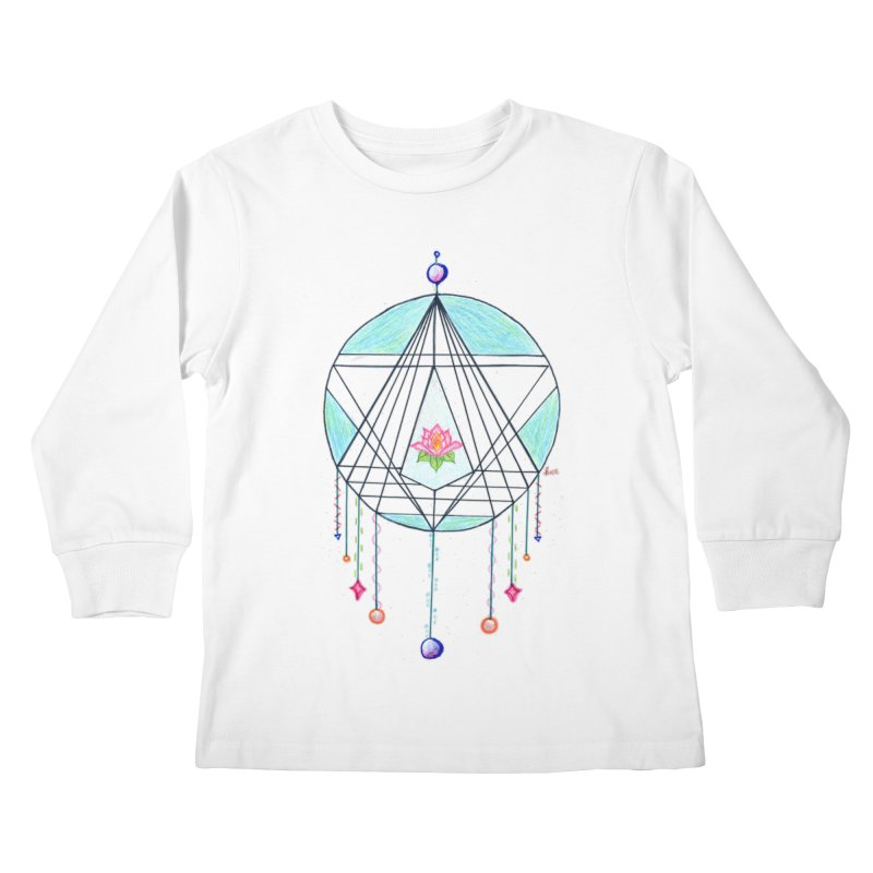 Dreamcatcher Kids Longsleeve T-Shirt by The Life of Curiosity Store