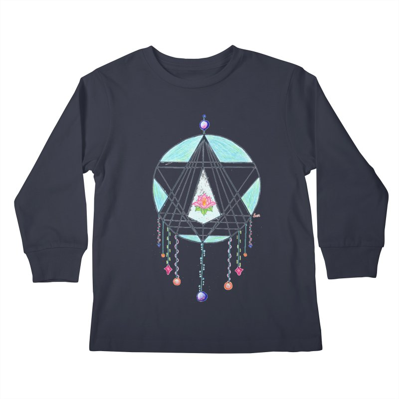 Dreamcatcher Kids Longsleeve T-Shirt by The Life of Curiosity Store