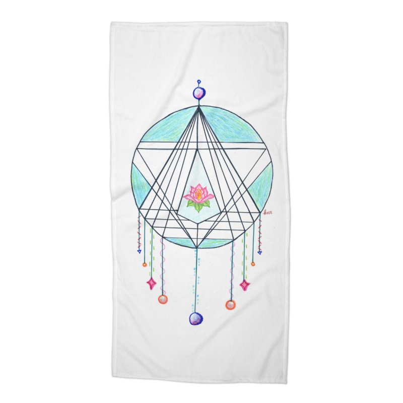 Dreamcatcher Accessories Beach Towel by The Life of Curiosity Store