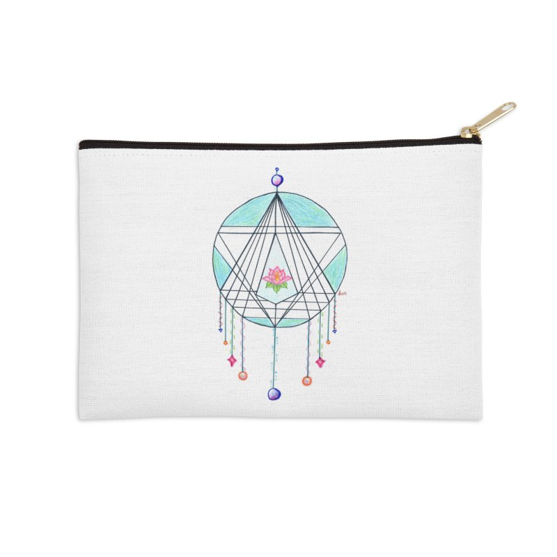 Dreamcatcher Accessories Zip Pouch by The Life of Curiosity Store