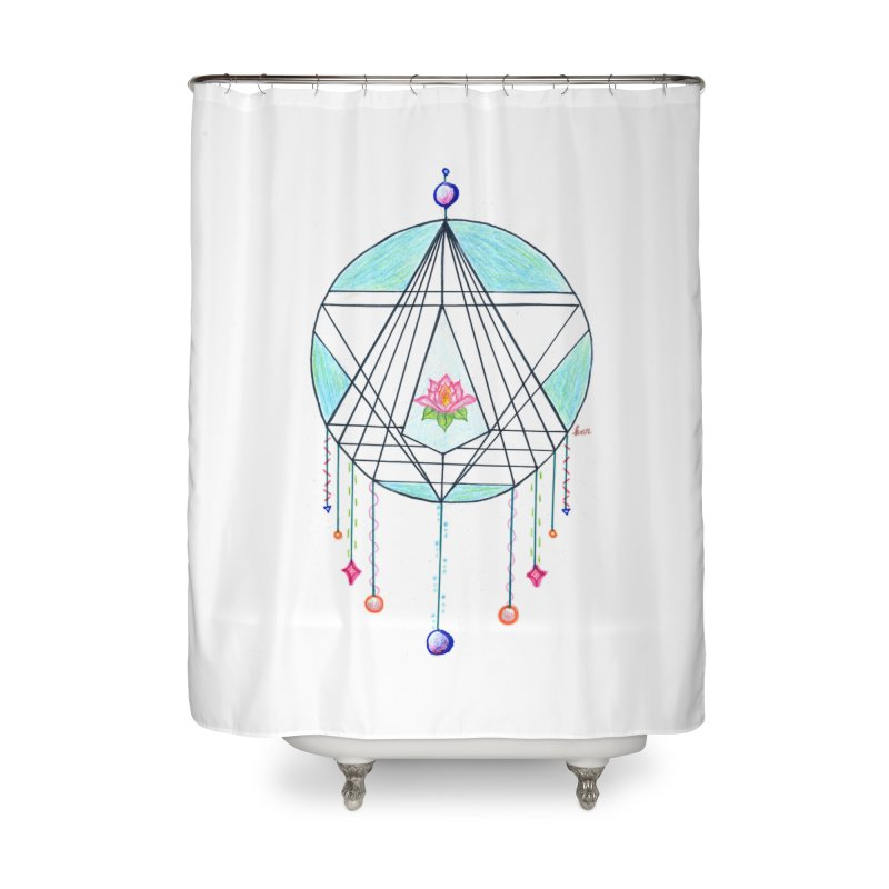 Dreamcatcher Home Shower Curtain by The Life of Curiosity Store