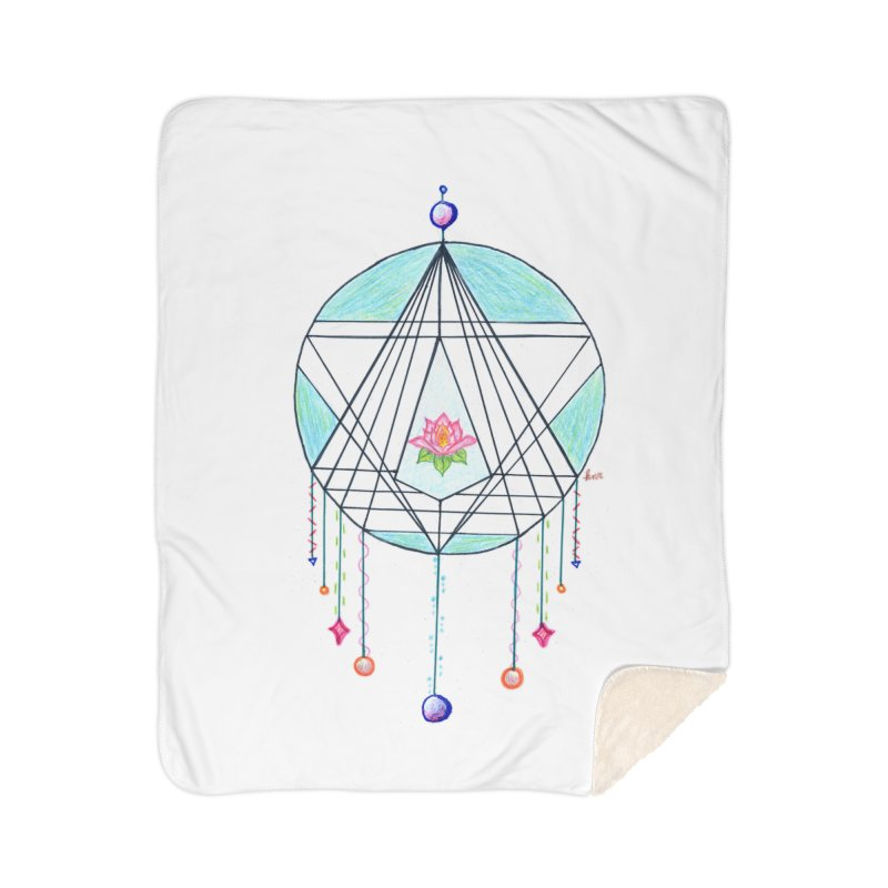 Dreamcatcher Home Sherpa Blanket Blanket by The Life of Curiosity Store
