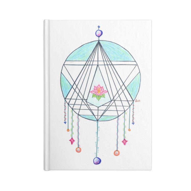 Dreamcatcher Accessories Lined Journal Notebook by The Life of Curiosity Store