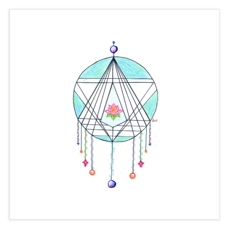 Dreamcatcher Home Fine Art Print by The Life of Curiosity Store