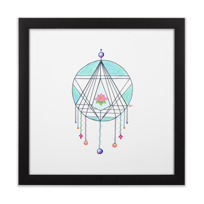 Dreamcatcher Home Framed Fine Art Print by The Life of Curiosity Store